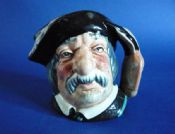 Miniature Royal Doulton 'Sancho Panca' Character Jug D6518 (Sold)